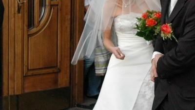 Śliczna suknia Chris Couture-AMOR
