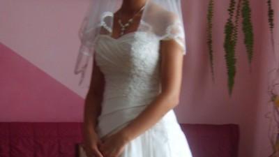 Śliczna suknia Emmi Mariage!!!!