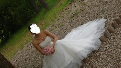 Śliczna suknia Mon Cheri Jolie