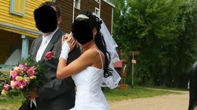 Śliczna suknia ślubna :)