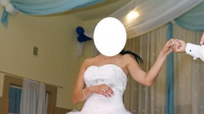 Śliczna suknia ślubna 2013 firmy AFRODYTA !!!