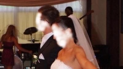 śliczna suknia ślubna 36/38 biała Olimpia