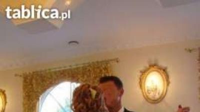 Śliczna suknia ślubna 36/38 Karina 165 cm gorset