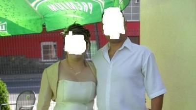 Śliczna suknia ślubna 40-44