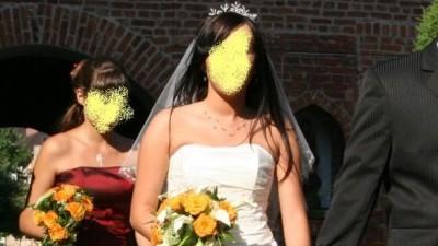 Śliczna suknia ślubna!!!