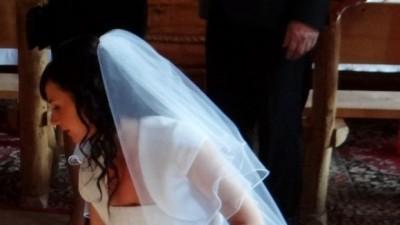 Śliczna Suknia Ślubna AGNES + dodatki