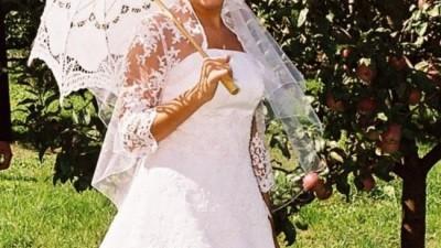 śliczna suknia ślubna - buty gratis!