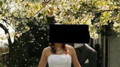 Śliczna Suknia Ślubna Cosmobella 7166 z salonu Lisa Ferrera