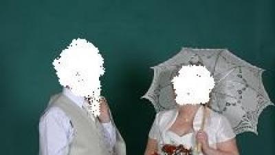 śliczna suknia ślubna ecru duży rozmiar 44-48