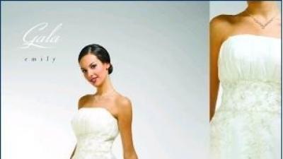 Śliczna suknia ślubna Emily