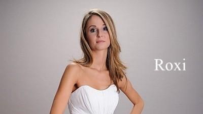 Sliczna suknia ślubna firmy Afrodyta model Roxi 2009