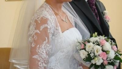 Śliczna suknia ślubna firmy Duber, model 913 aktualnej kolekcji!!! Idealny stan!