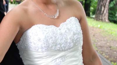 Śliczna suknia ślubna HERMS ELDORA!