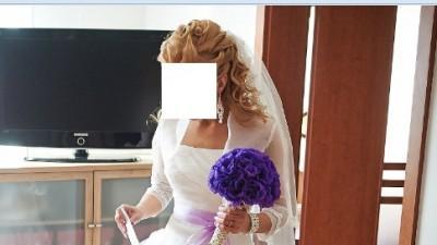 Śliczna suknia ślubna Julia Rosa 332 , R. 34/36