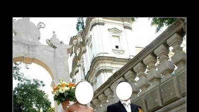 Śliczna suknia ślubna La SPosa Piramide z Salonu Madonna Kraków