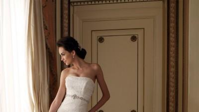 Śliczna Suknia Ślubna Mon Cheri JOELLE 36-38 Ivory