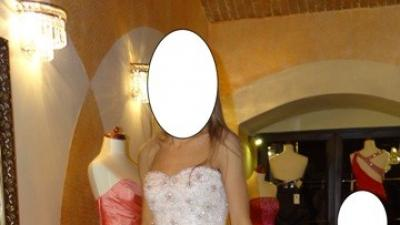 Śliczna Suknia Ślubna roz. 34
