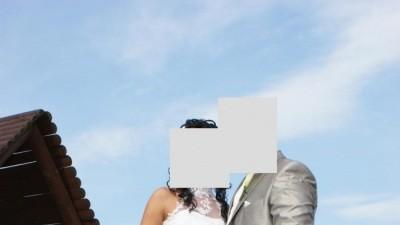 Śliczna suknia ślubna rozm 34/36