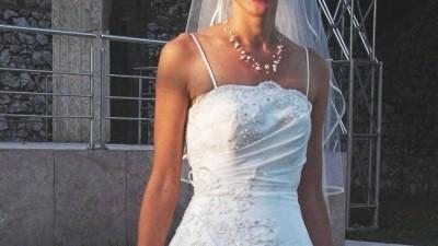 Śliczna suknia ślubna rozm.36