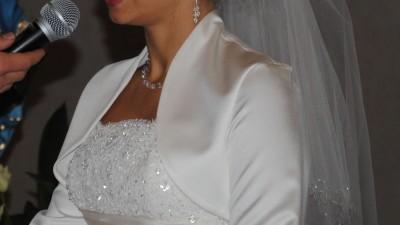 Śliczna suknia ślubna SAN PATRICK - model ESLAVA r. 36-38