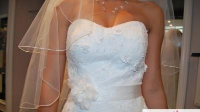 Śliczna suknia ślubna Sweetheart