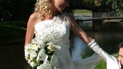 Śliczna suknia ślubna-Włocławek