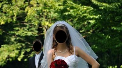 Śliczna Suknia Ślubna z dodatkami 36/38  OLSZTYN