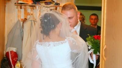 śliczna suknia ślubna z salonu Margarette