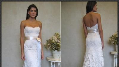 Śliczna suknia ślubna za 349,45 zł + koszty przesyłki! NOWA!