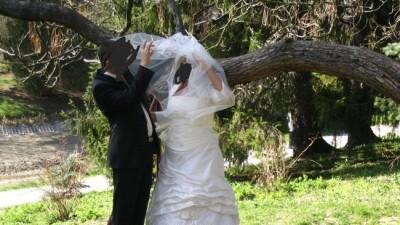 śliczna suknia ślubna zakupiona w salonie REGINA DIAMENTE w Lublinie