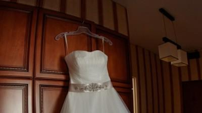 Śliczna suknia typu princessa Amy Love 2014
