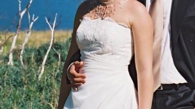 Śliczna suknia w atrakcyjnej cenie!