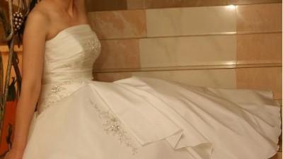 Śliczna suknia Zafira Sposa