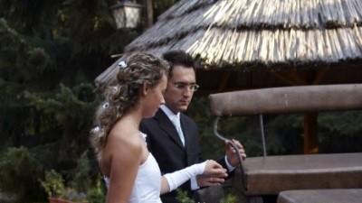 Sliczna suknie ślubna