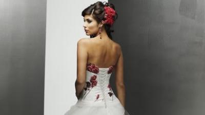 Śliczna suknie ślubna za 218,3 zł+koszty przesyłki