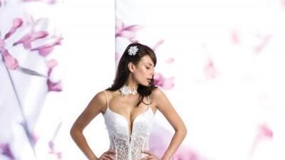 Śliczna suknie ślubna za 553,85 zł+koszty przesyłki! NOWA!