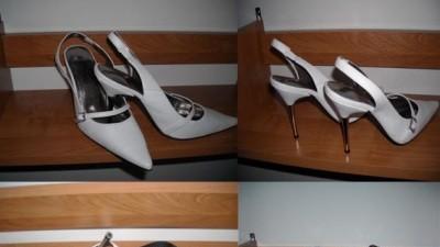 Śliczne buty na metalowej szpilce 36-37