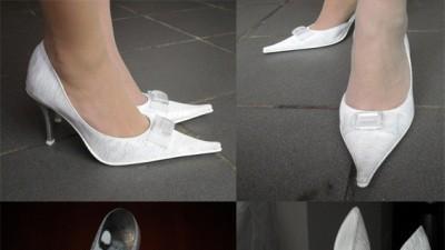 Śliczne buty nie tylko ślubne 37