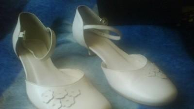Śliczne buty ślubne Ryłko rozm.36,5