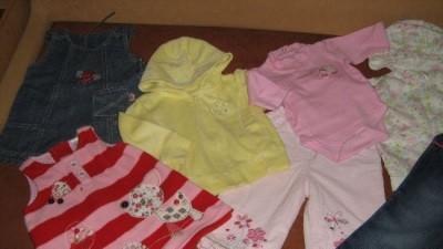 Sliczne ubranka dla dziewczynki 56-80- firmowe w super stanie!