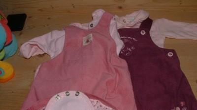 Sliczne ubranka dla dziewczynki jesien-zima Francja