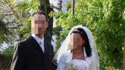 Śliczzna suknia ślubna