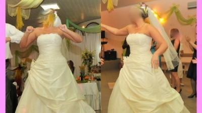 Ślub suknia ślubna bolerko welon halka 40 42 44 46