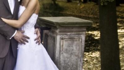 Śnieżnobiała suknia dla księżniczki
