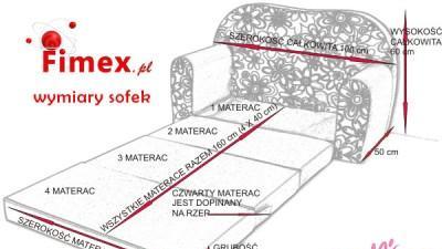 Sofa kanapa +pufa+poduszka