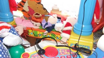 Spadające małpki/teatrzyk lalek