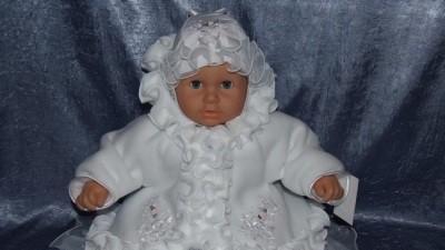 sperzedam ubranko do chrztu dla dziewczynki buciki GRATIS rozm 74