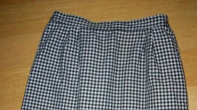 Spódnica w kratę