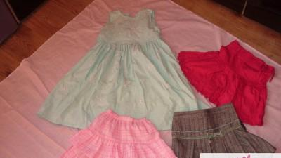 Spódnice + sukienka