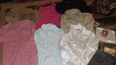 spodnie,bluzki,tuniki 40/42